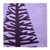 "Purple tree I, 2011, Acrylic on canvas, 9""x9"". Copyright Rebe Banasiak, The Brush Hilt and Banasiak Art Gallery."